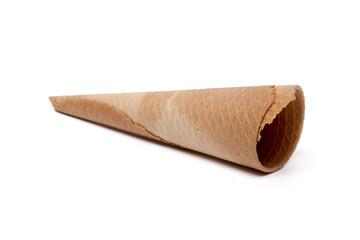 empty icecream cone
