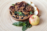 raw food cookies with c mint  almonds