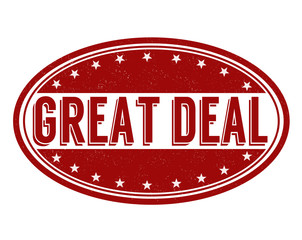Great deal stamp