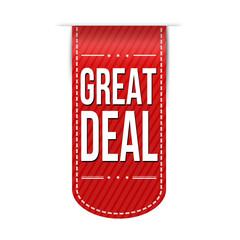 Great deal banner design