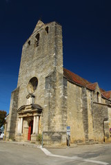 Eglise Notre-Dame de l'Assomption de Domme, Dordogne, France