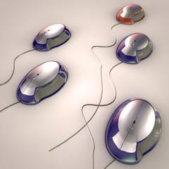 mouse 3d render