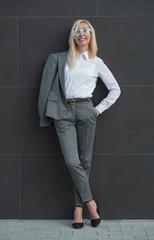 Portrait mature business woman