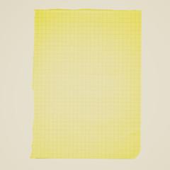 Retro look Blank paper