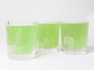 Green apple juice