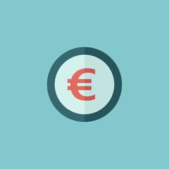Euro Flat Icon