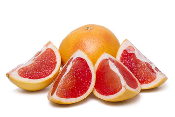 fresh and healthy grapefruit
