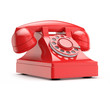 retro (vintage) red phone