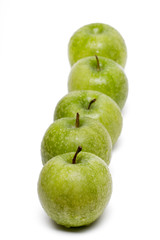 tasty green apples
