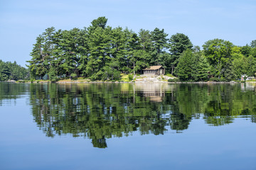 Cottage on a Tranquil Lake