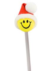 lollipop smile santa hat