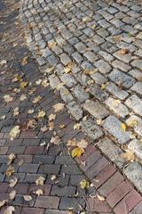Autumn Brick Road