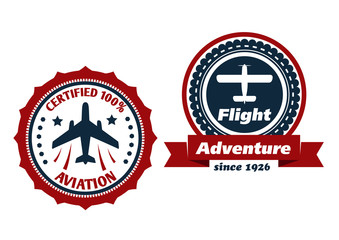 Aviation and flight symbols