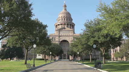 Texas State Capitol Building in Austin, TX