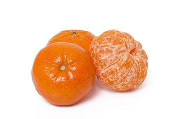 vibrant tangerines fruits