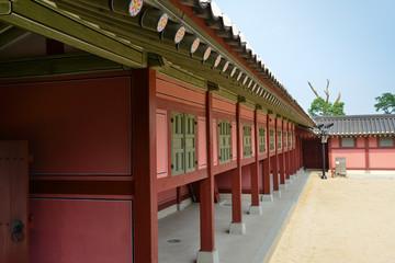 Hwaseong Haenggung Palace, Suwon city, South Korea