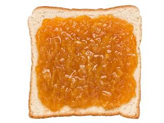 orange marmalade jam sandwich