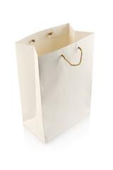 Blank shopping paper bag