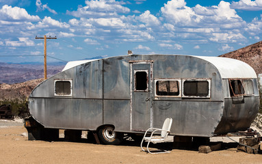Aluminum Travel Trailer