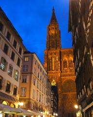 ノートルダム大聖堂 夜景 フランス