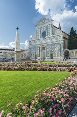 Church of Santa Maria Novella in Florence, Italy.