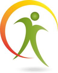 Mensch, Ein Person, Sport, Heilpraktiker