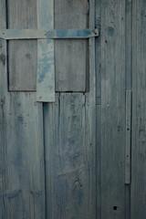 porte en bois délavée