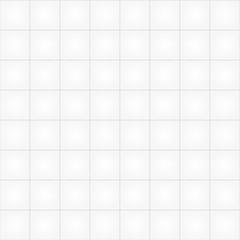 White tile seamless pattern background. Vector