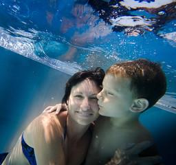 Unterwasserbusse für Mutti