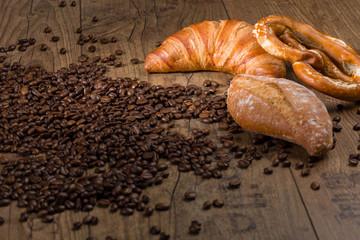 Kaffee und Backwaren