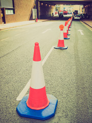 Retro look Traffic cone