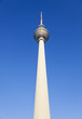 canvas print picture - Berlin TV Tower.
