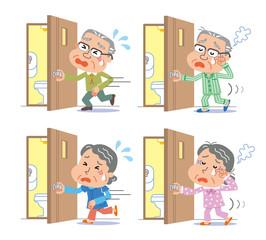頻尿 夜間頻尿 高齢者 男女