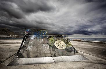 Rampa de Skateboarding