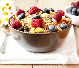 Muesli with Berries
