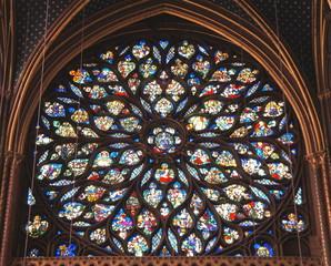 サントシャペル、バラ窓、フランス