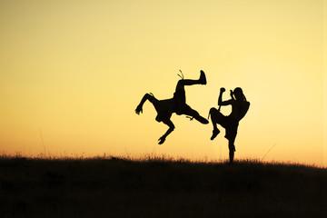 dinamizm dolu sportif hareketler