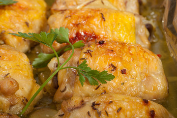 roasted chicken breast rolls