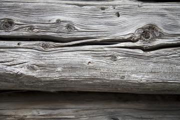 verwitterte Holzplanke
