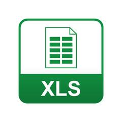 Etiqueta tipo app verde XLS