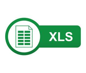 Etiqueta tipo app verde alargada XLS