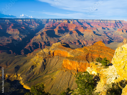 Fototapeta Red rocks of Grand Canyon