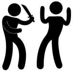 agression avec arme, délinquance urbaine