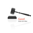 gavel icon - 68667683