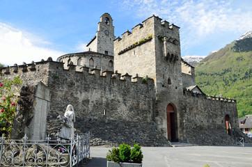 Fortified church in Luz-Saint-Sauveur