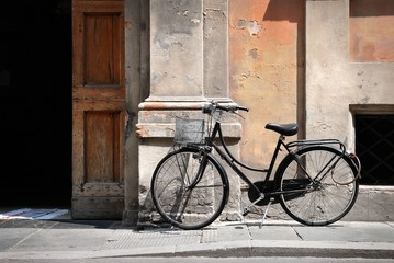 Italian old style bicycle