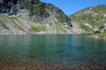 Kidney Lake and Rila Mountains