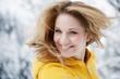 Österreich, Junge Frau lächelnd , close up