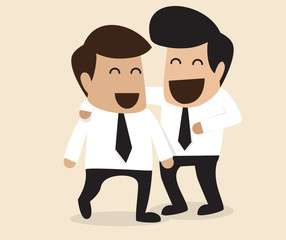 Friendship between two Businessman