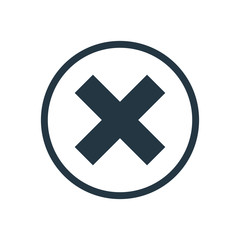 close icon.